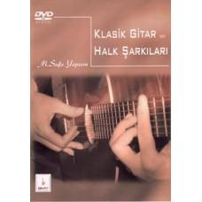 Klasik Gitar için Halk Şarkıları DVD'li