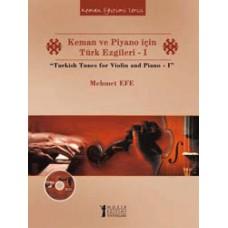 Keman ve Piyano için Türk Ezgileri - I CD'li