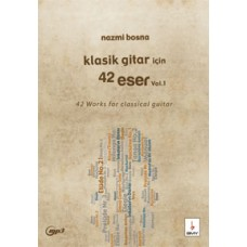 Klasik Gtar için 42 Eser-Vo.1 +MP3