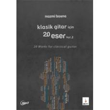 Klasik Gtar için 20 Eser-Vo.2 +MP3
