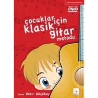 Çocuklar için Klasik Gitar Metodu-1 +DVD