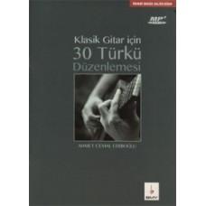 Klasik Gitar için 30 Türkü + MP3