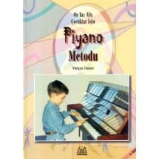 On yaşaltı Çocuklar için Piyano Metodu